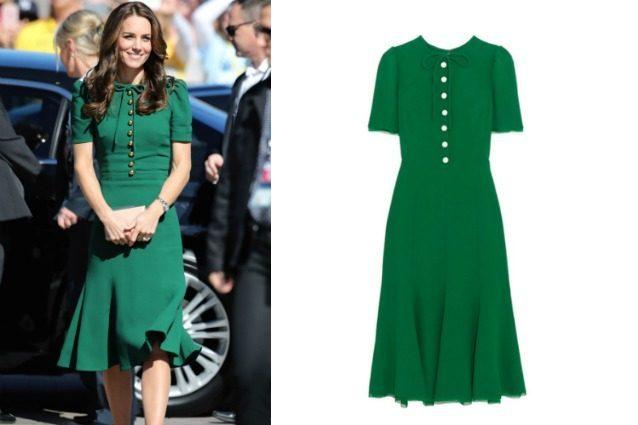 Dolce&Gabbana mette in vendita l'abito di Kate Middleton: costa quasi 3mila dollari