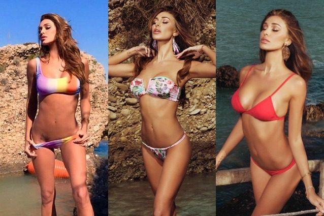 Belén Rodriguez infiamma i social con le foto al mare: in bikini è più sexy che mai