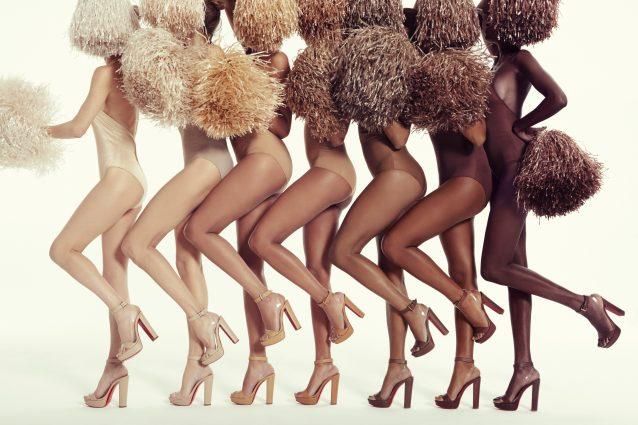 I nuovi sandali di Christian Louboutin: sette tonalità di nude per ogni carnagione