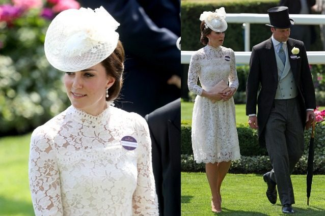 Kate Middleton, look sponsale al Royal Ascot