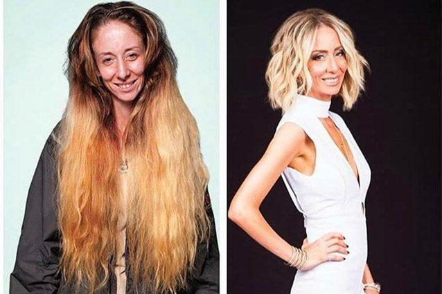 Non taglia i capelli da anni ma con il nuovo look sembra avere 20 anni di meno