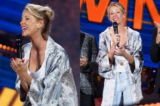 Giorgia roma indossa la catsuit a rete di 69shop - 4 6