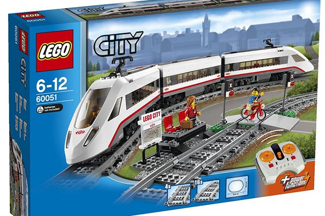 Lego City Trains.