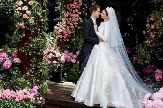 Miranda Kerr sposa segretamente il fondatore di Snapchat