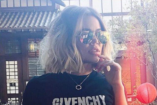Il nuovo taglio di capelli di Khloe Kardashian in diretta su Snapchat
