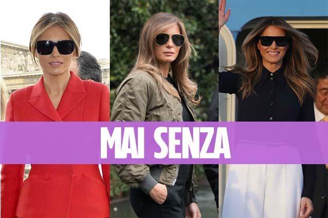 Non solo i tacchi a spillo: ecco l'accessorio a cui Melania Trump non rinuncia mai