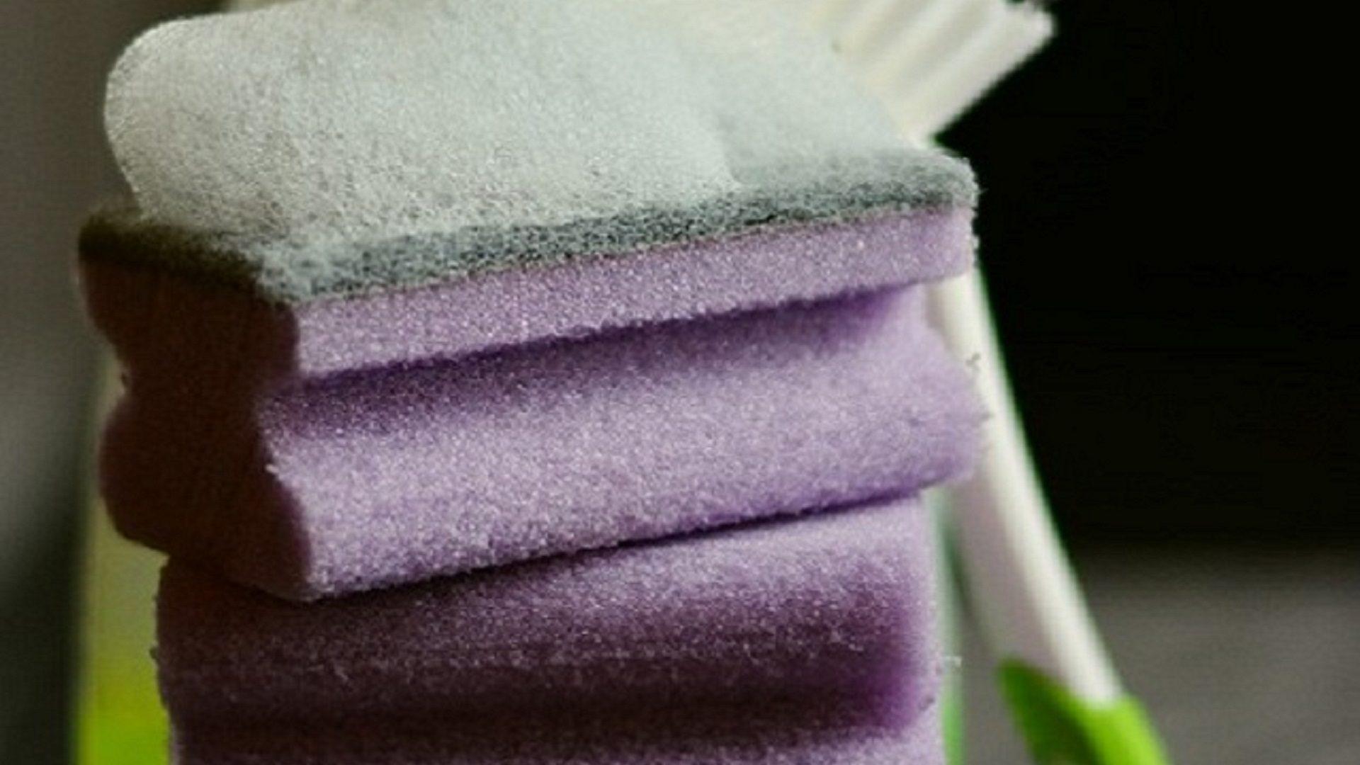 Spugne da cucina: i rimedi per sterilizzarle e liberarle da germi e batteri