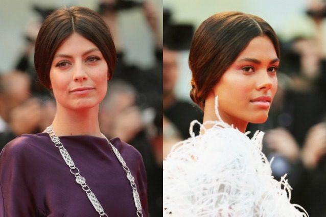 """Va di moda il look da """"nonna"""": la trasformazione della Mastronardi e di Tina Kunakey"""