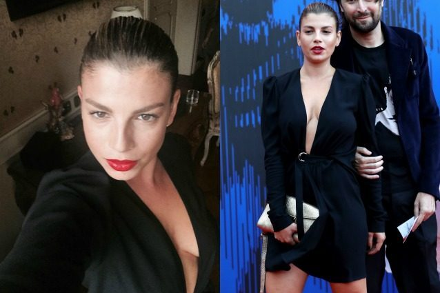 La maxi scollatura di Emma Marrone: la cantante è più sexy che mai a Venezia