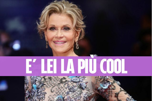 Jane Fonda, perché (a quasi 80 anni) è lei la più bella di Venezia 74