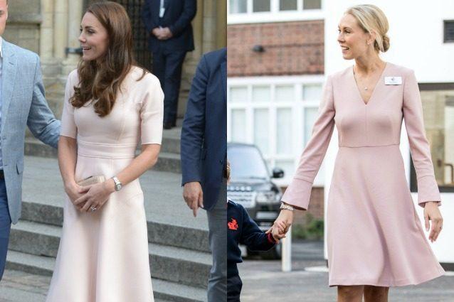 La maestra di George imita Kate Middleton: ha lo stesso stile della principessa