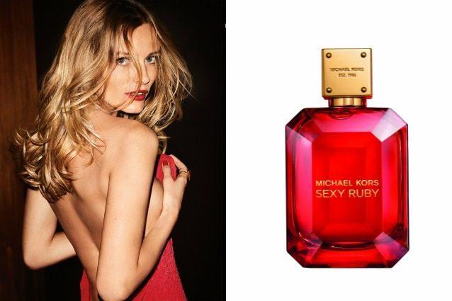 Michael Kors firma Sexy Ruby, il nuovo sensuale profumo ispirato al rubino