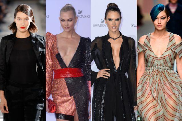 Milano Fashion Week, top model alla carica: Gigi, Bella, Alessandra Ambrosio e le altre