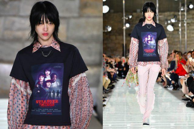 """Stranger Things"" in passerella: Louis Vuitton lancia la T-shirt ispirata alla serie"