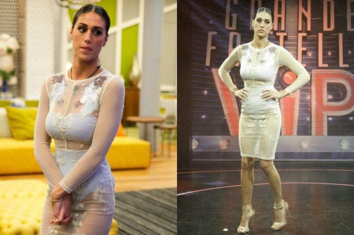 Il nude look di Cecilia Rodriguez al GF Vip