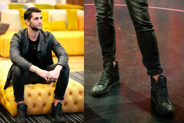 vari stili Più affidabile nuovo aspetto Cecilia Rodriguez al GF Vip, solo una giacca da uomo ...