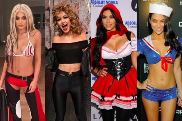 89ee98fa1ce1 Da Cappuccetto Rosso a Christina Aguilera  i costumi di Halloween più  assurdi delle star
