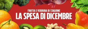 Quale frutta e verdura mangiare a dicembre?