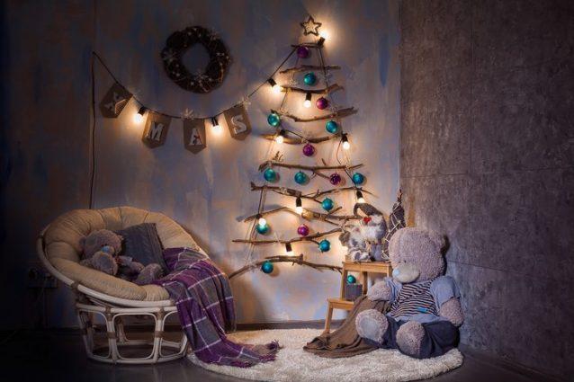 Decorazioni In Legno Per Albero Di Natale : Alberi di natale particolari idee originali e di tendenza per