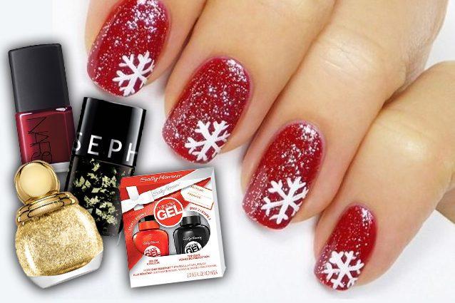 Manicure di natale le idee per unghie scintillanti for Decorazioni natalizie unghie