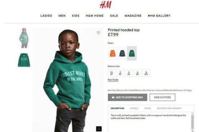 H&M nella bufera: