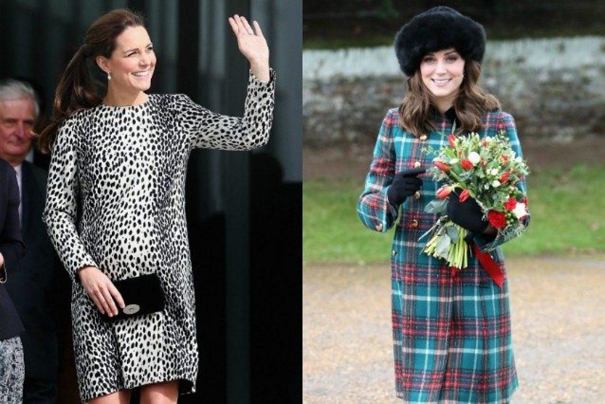 8cf215ebf860 Look premaman a confronto  com è cambiato lo stile di Kate Middleton nelle  tre gravidanza