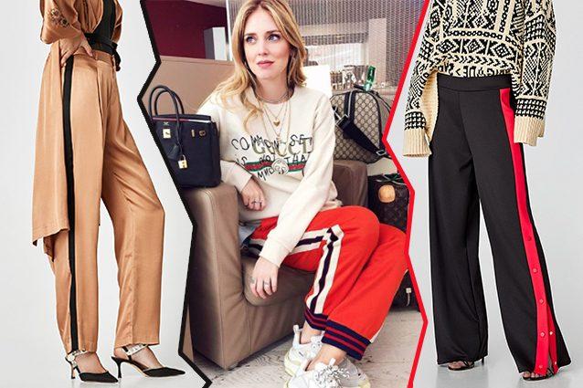 pantaloni Zara, Chiara Ferragni con pants Gucci