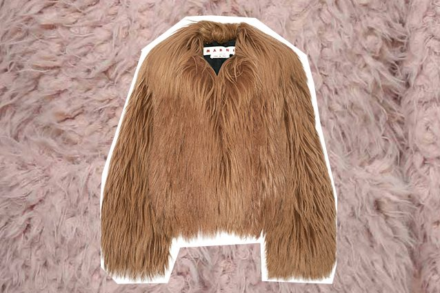 pelliccia eco Marni
