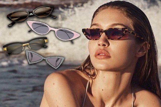 11d33f48b4 Occhiali mini  l accessorio della primavera 2018 si ispira a Matrix