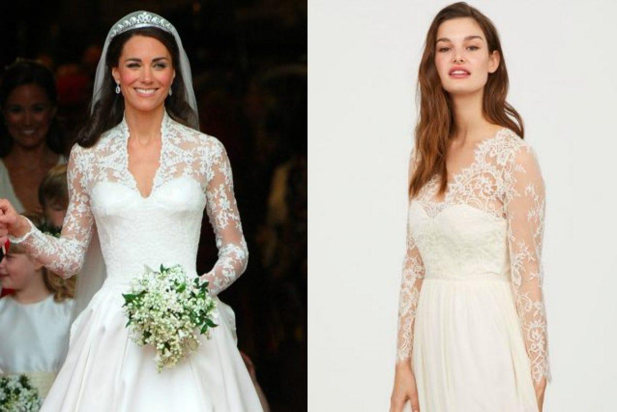 L abito da sposa di Kate Middleton in versione economica  H M lancia il  modello low-cost 3dcfcba01cc