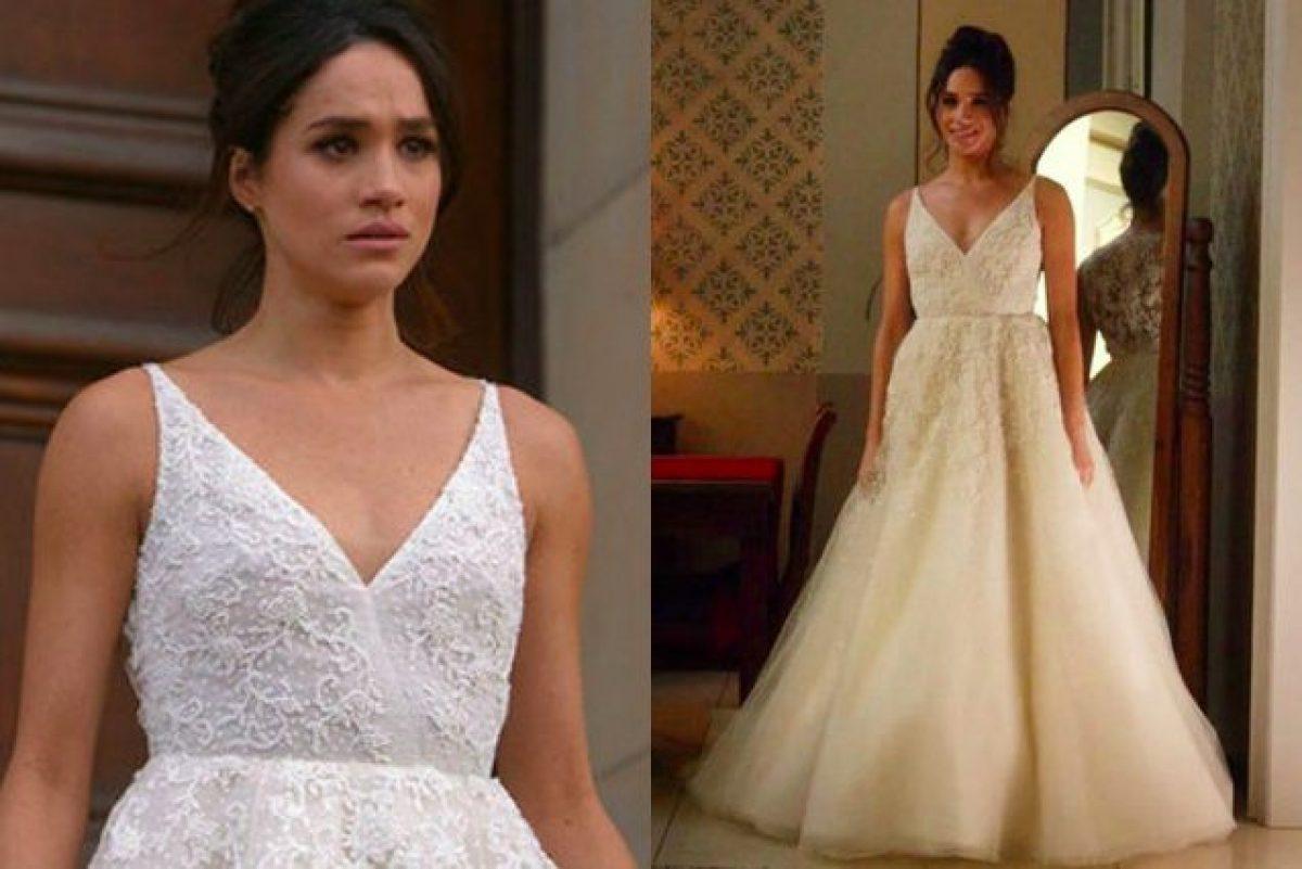 0f5c8debf550 Meghan Markle in abito da sposa prima delle nozze  ecco perché lo ha fatto