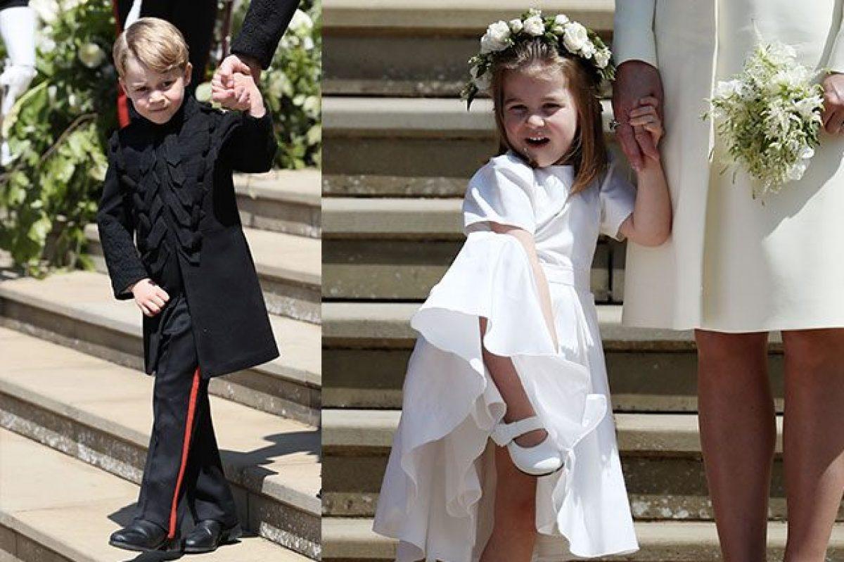 21e86d6a0b34 Charlotte e George rubano la scena alla sposa  sono loro i più amati del  Royal Wedding