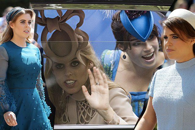 Dopo i cappelli strani, Eugenie e Beatrice di York scelgono look sobri al  Royal Wedding