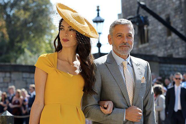 Matrimonio Meghan E Harry : Colori pastello e cappellini i look degli invitati al