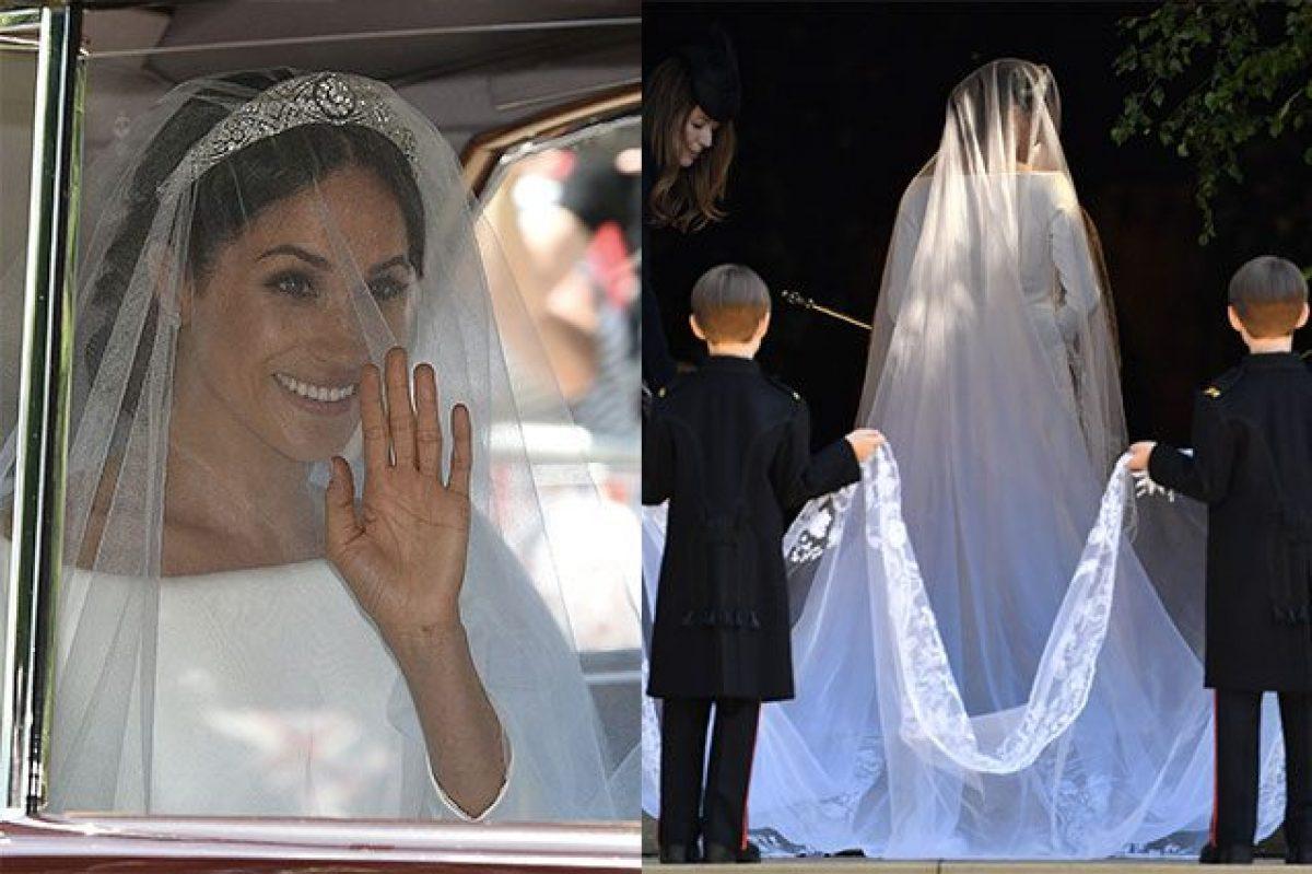 ea7ff24b274c L abito da sposa di Meghan Markle  semplicità ed eleganza regnano