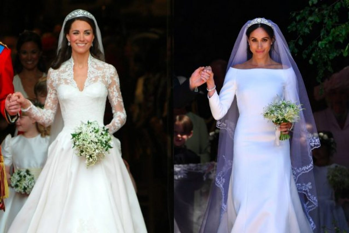 Bouquet Sposa Principessa Kate.Meghan Markle Vs Kate Middleton I Look Da Sposa A Confronto