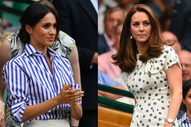 Kate e Meghan insieme a Wimbledon