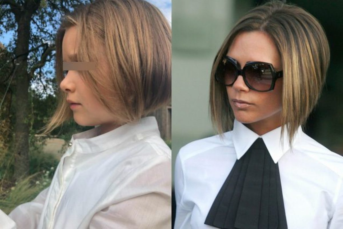Harper Beckham Cambia Look Imita Il Taglio Di Capelli Di Mamma Victoria