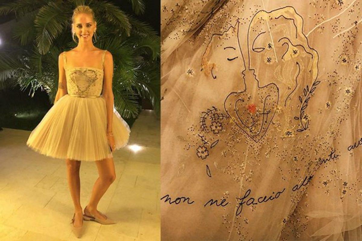 codice promozionale 35edc a41f7 Chiara Ferragni: il terzo abito da sposa e i simboli ...