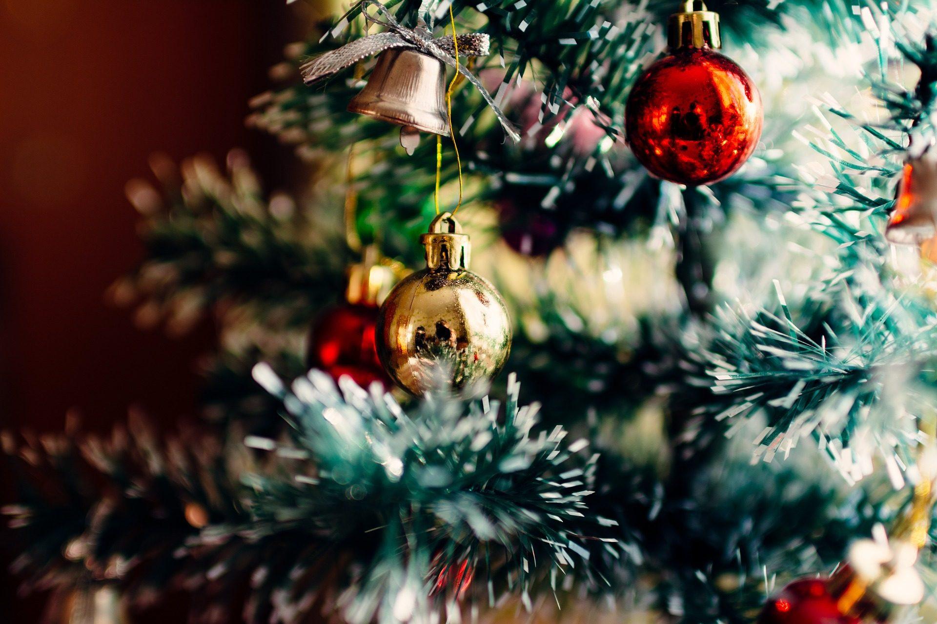 Peel OFF ALBERI di Natale grande x 5 FOGLI Multicolore su Bianco