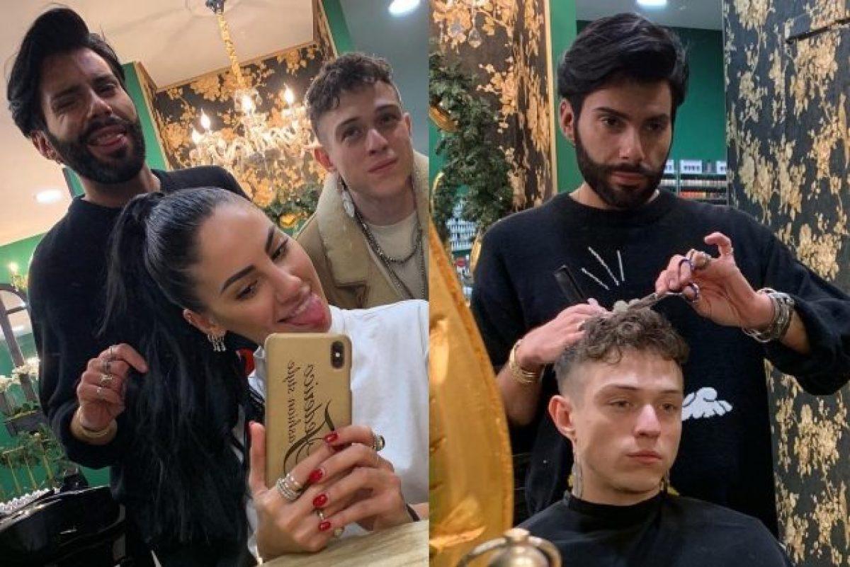 Giulia De Lellis e Irama insieme dal parrucchiere ecco i nuovi look dei  fidanzati