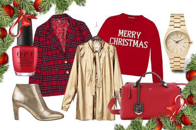 Come vestirsi a Natale 2018: i look per le feste con rosso e oro