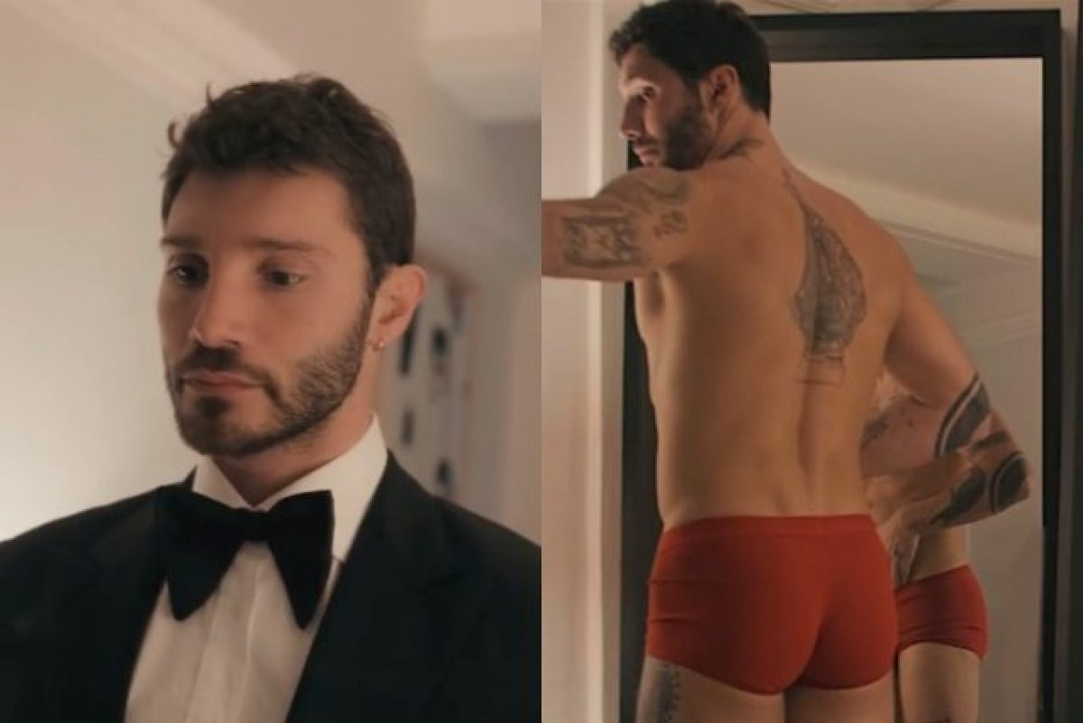 comprare popolare informazioni per prezzo incredibile Dallo smoking ai boxer rossi: Stefano De Martino si spoglia per ...