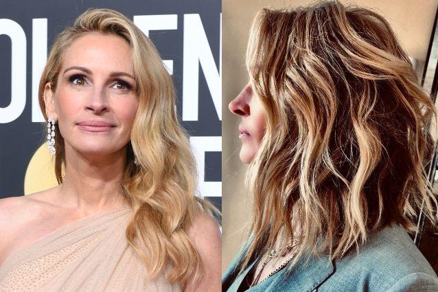 Julia Roberts cambia look: ecco il nuovo taglio di capelli ...