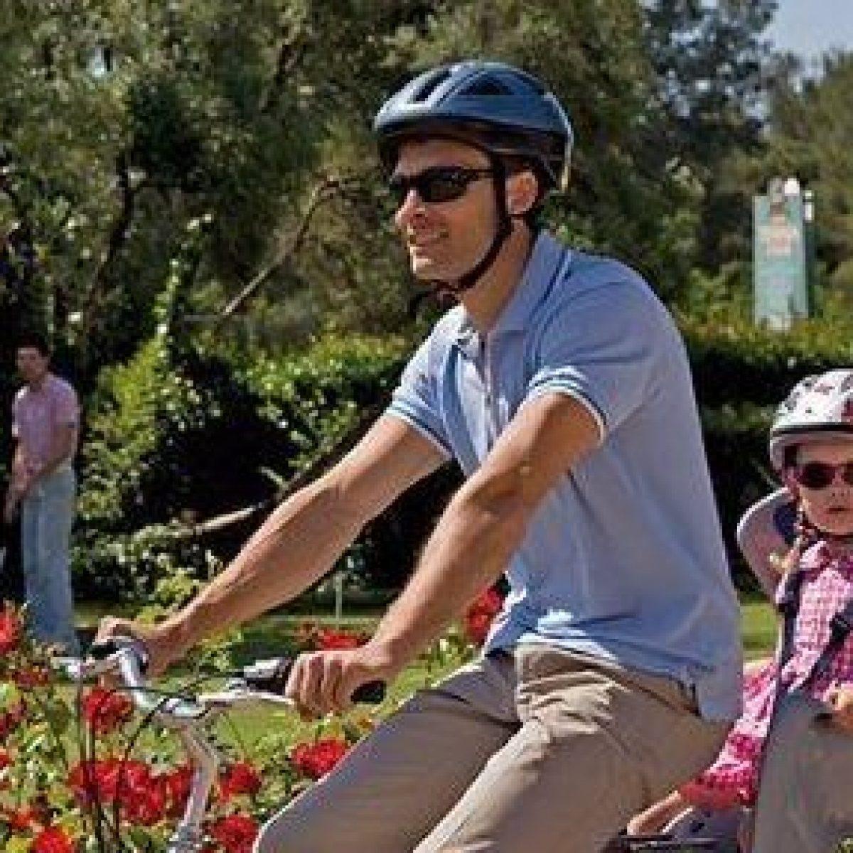 seggiolino posteriore bike gp classic attacco al telaio antracite con foderina