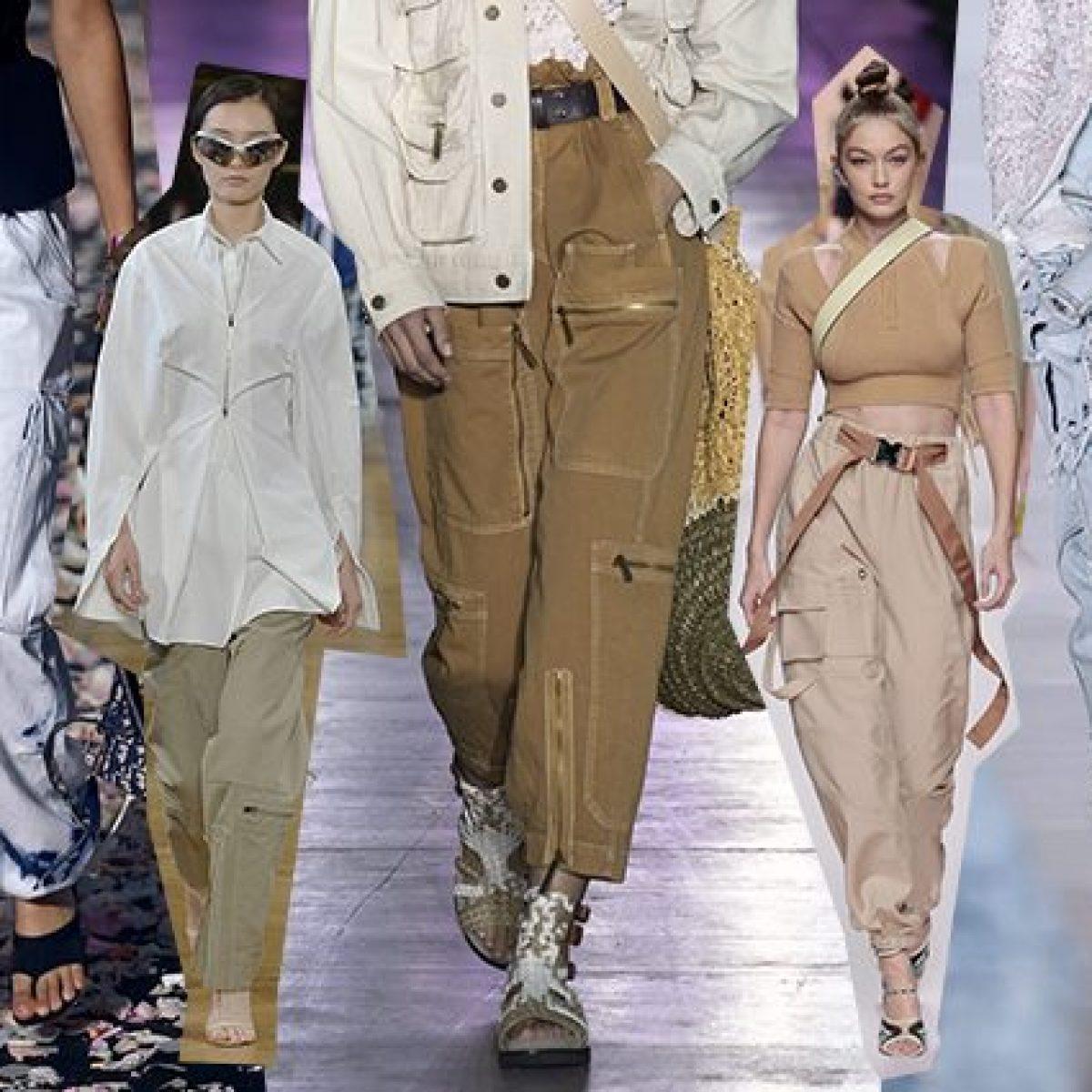 3899cea5694ec3 Il Cargo è di moda, i pantaloni più trendy della Primavera/Estate 2019  hanno le tasche