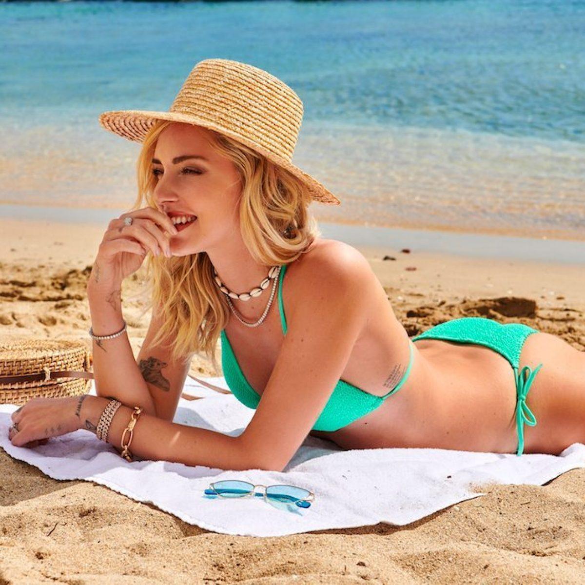 ff16a675a76d Chiara Ferragni in costume per Calzedonia: ecco i bikini più trendy ...