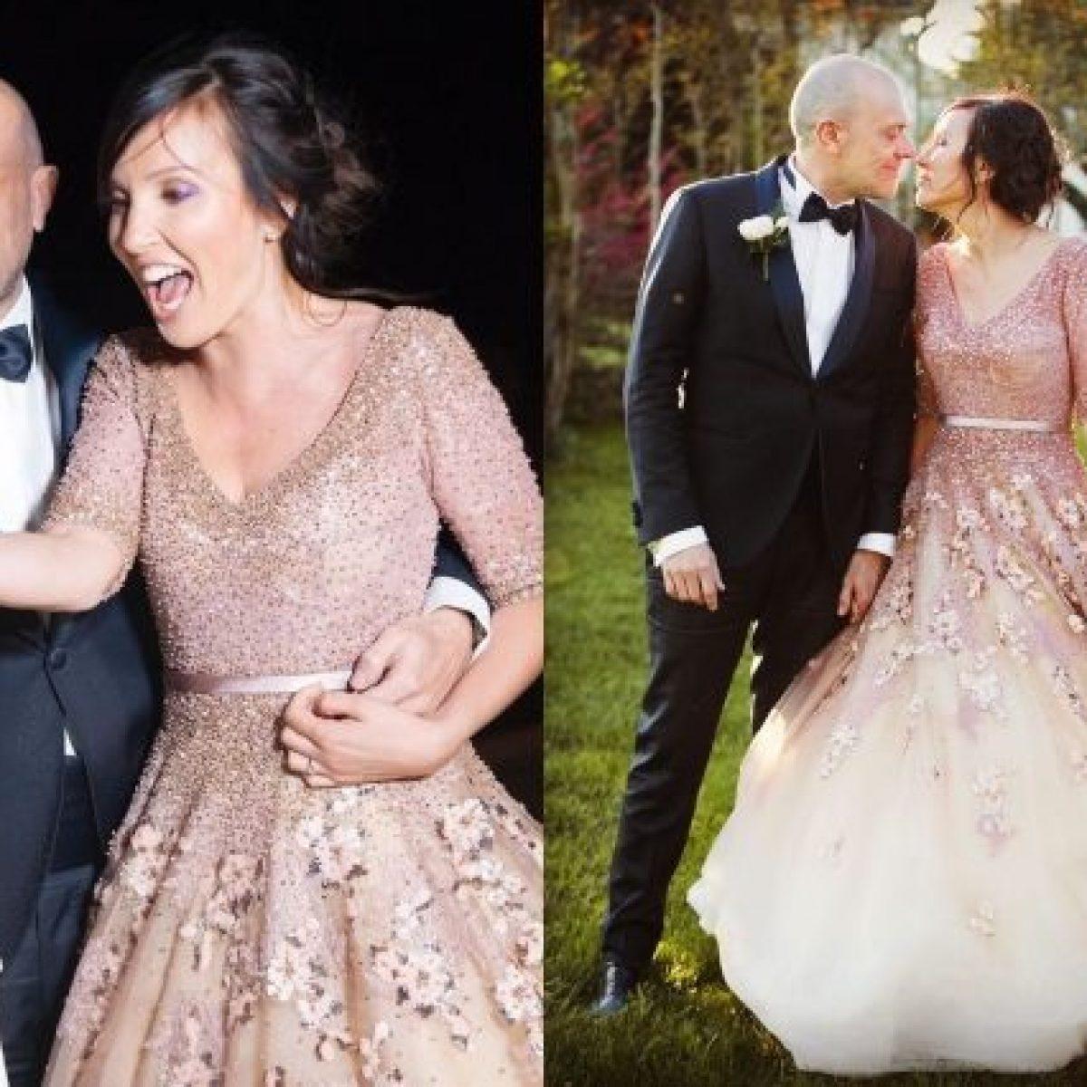 fe6606b2c094 Max Pezzali sposa Debora Pelamatti  lui in smoking