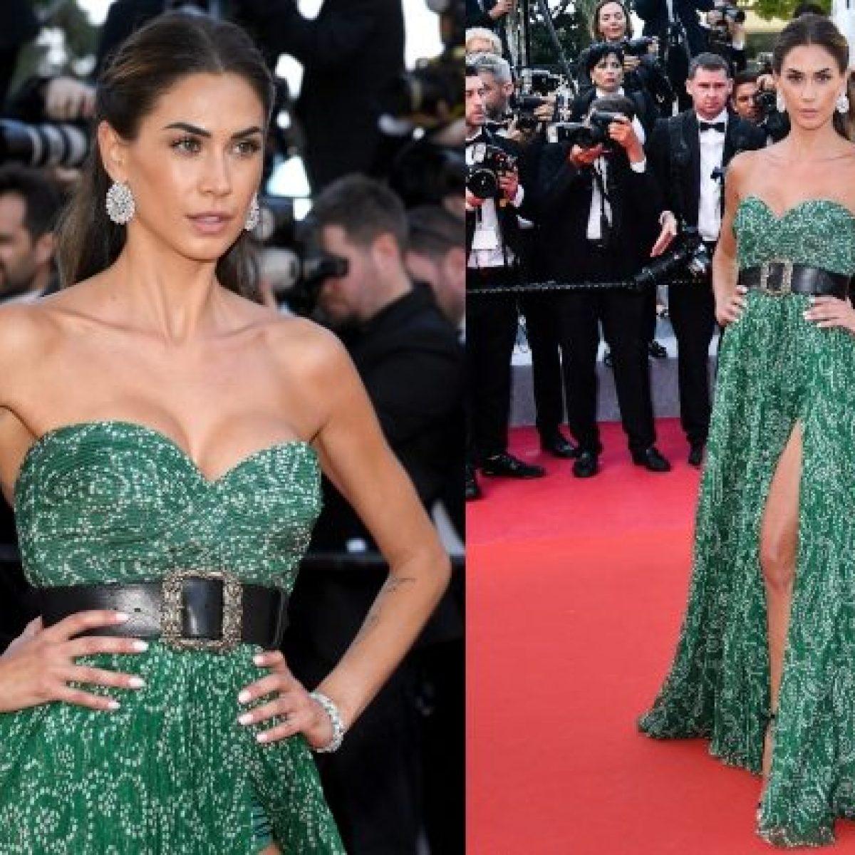 on sale fa192 50356 Festival di Cannes 2019, Melissa Satta incanta con l'abito ...