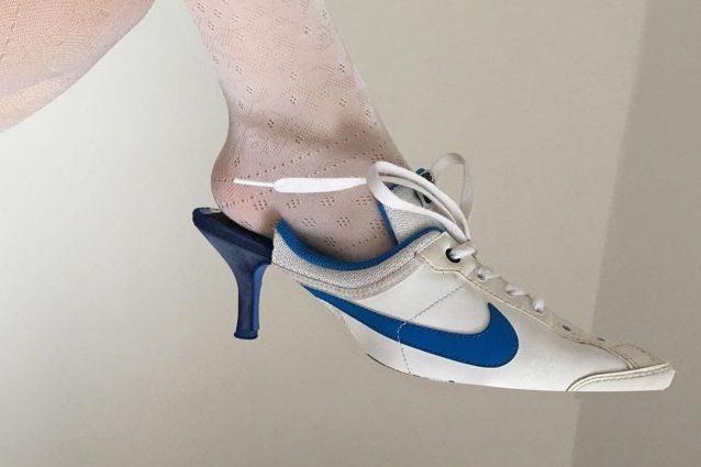 Sandalo Tacco Basso Scarpe Indossare Il Trend Con SlingbackCome 8knP0wO